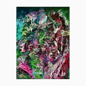 Chinese Contemporary Art von Fu Ze-Nan, Abstract Expressionism New Wild No.2, 2016