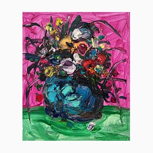 Arte cinese di Fu Ze-Nan, Flower No.2, 2016