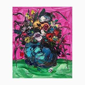 Chinesische Kunst von Fu Ze-Nan, Flower No.2, 2016