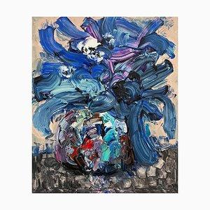 Arte chino de Fu Ze-Nan, Flower No.3, 2016