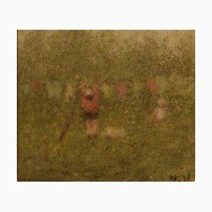 Mid-Century Impressionist Pastell von William Mason, 1960er