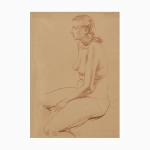 A. Bradbury, Still Life, 1957, Pencil Figurative