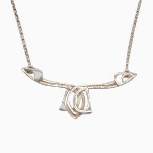 Silver Art Nouveau Necklace by Ola Gorie