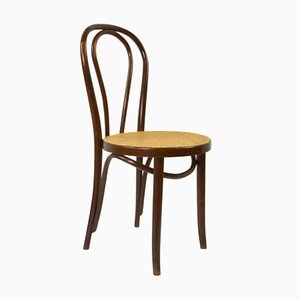 Vintage Coffeehouse Chair with Viennese Braid