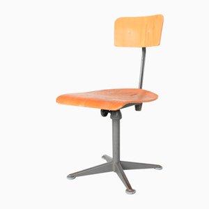 Dark Grey Drafting Chair by Friso Kramer for Ahrend De Cirkel, the Netherlands, 1960s