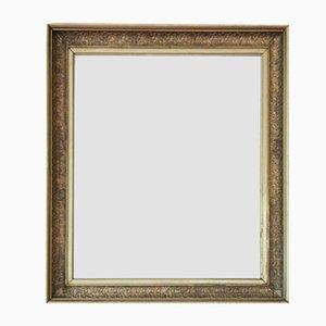 Großer vergoldeter Overmantel oder Wandspiegel, Mitte 19. Jh