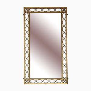 Großer vergoldeter Overmantel oder Wandspiegel, 1920er, 2er Set