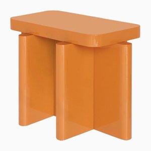 Mesa auxiliar Spina en color caramelo de Caradavide para Portego