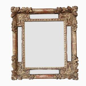 Großer vergoldeter Overmantel oder Wandspiegel, frühes 19. Jh