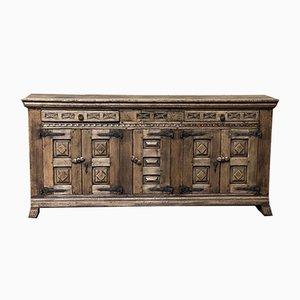 Spanish Bleached Oak Sideboard