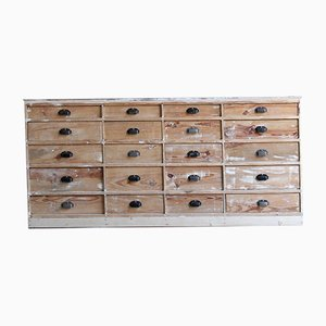 Distressed Chest of 20 Drawers