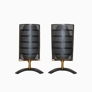 Small Italian Table Lamps from Stilnovo, 1960s, Set of 2