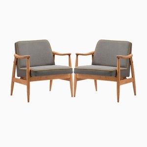 300-203 GFM-87 Armlehnstühle, 1970er, 2er Set
