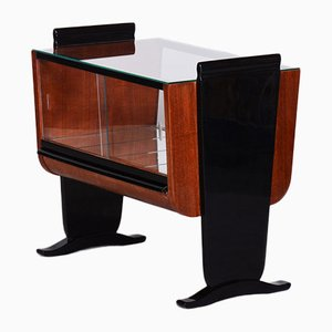 Small Restored High Gloss Table by Halabala for UP Závody, Czechia, 1930s