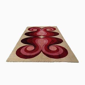 Large Dutch High Pile Carpet from Prinstapijt / Desso, 1970s
