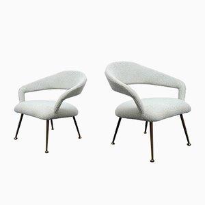 Lounge Chairs by Gastone Rinaldi, 1970s, Set of 2