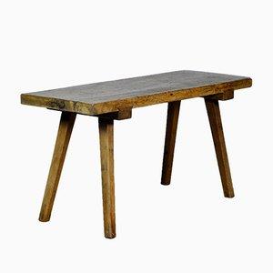 Tavolo da macellaio vintage in quercia, anni '30
