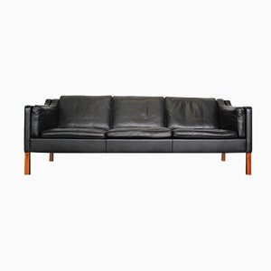 2213 Leather Sofa by Børge Mogensen for Fredericia