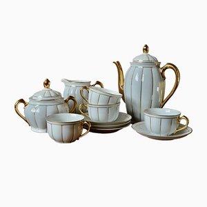 Art Deco Bohemian Style Tea Service, Set of 11