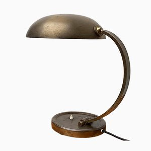 German Mid-Century Brass Table Lamp from Gecos Cosack