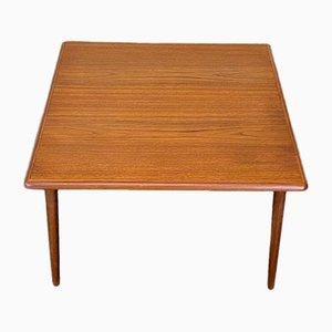 Table Basse Moderne en Teck, Danemark, 1960s