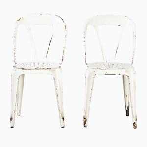 French Metal Dining Chairs from Multipl's, 1950s, Set of 2
