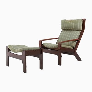 Scandinavian Lounge Chair by Torbjørn Afdal for Usages, 1960s