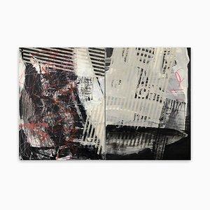 Daily Fish Wrap, Peinture Abstraite, 2020