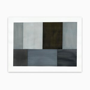 Test Pattern 2 (Gray Study), Abstract Drawing, 2005