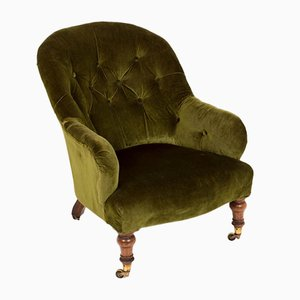 Victorian Button Back Armchair