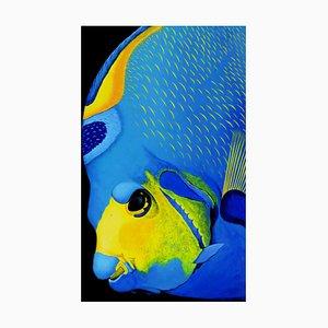 Patrick Chevailler, # 501 Queen Angelfish Portrait, 2010