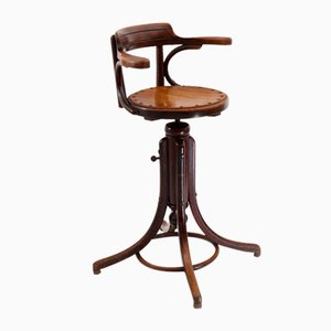 Antique Barber Chair or Deportment Chair for Children