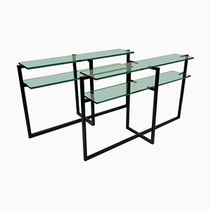 French Console Tables, 1960s, Set of 2