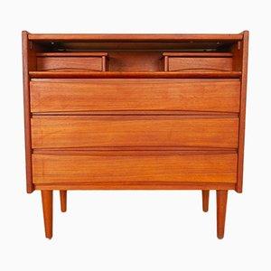 Vintage Danish Teak Vanity Dresser, 1960s