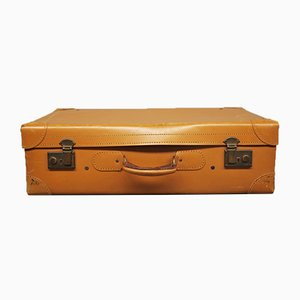 Leder Koffer, Mailand, Italien, 1950er