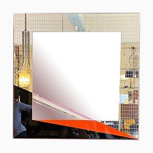 Italienischer moderner Mid-Century Spiegel von Eugenio Carmi für Acerbis, 1980er
