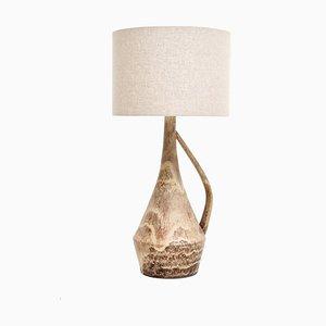 Brutalist Vase Table Lamp, 1970s
