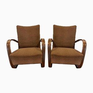 Modell 269 Sessel von Jindrich Halabala für Thonet, 2er Set