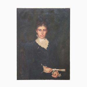 Öl auf Leinwand, Portrait of Lady