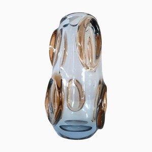 Italienische Vase aus Muranoglas, 1960er