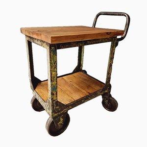 Industrielle Küchenmöbel oder Gartenwagen