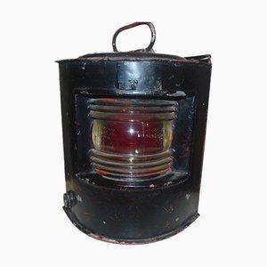Industrielle Vintage Schiffslampe, 1950er