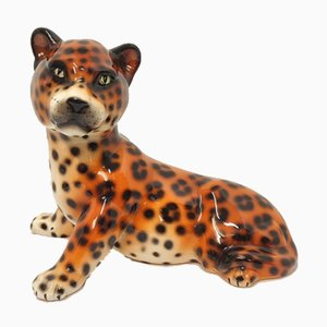 Keramik Tiger, Spanien, 1980er