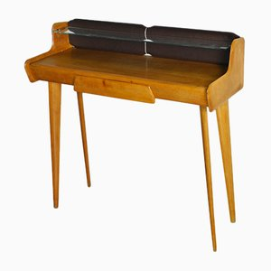 Small Italian Desk Console in the Style of Ico Parisi, 1960s