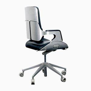 German Desk Chair in Silver by Hadi Teherani for Interstuhl