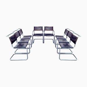 Bauhaus S33 Esszimmerstühle von Mart Stam und Marcel Breuer für Thonet, 1970er, 8er Set