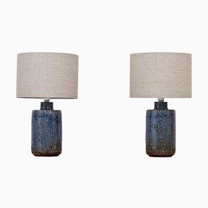 Lampes de Bureau en Céramique par Marianne Westman pour Rörstrand, Set de 2