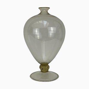 Art Deco Blown Murano Glass Vase by Vittorio Zecchin for Venini
