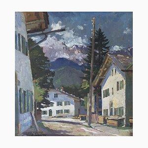 W. Scherer, Paysage de Montagne, 1931