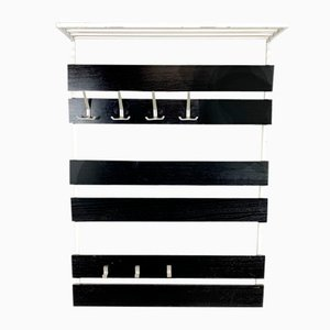 Black & White Coat Rack